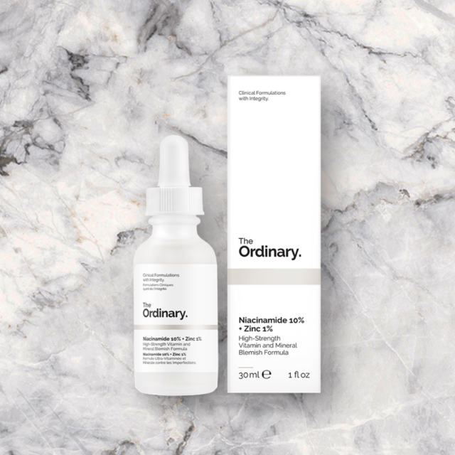 THE ORDINARY Niacinamide 10% + Zinc 1% - 1 oz/ 30 mL NEW in box with gifts