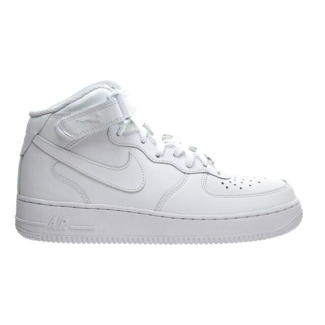 acelerador Legado martillo  WMNS Nike Air Force 1 Mid 07 Le White Womens Casual Shoes Af1 Sneaker  366731-100 5.5 for sale online | eBay