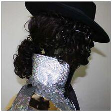 Michael Jackson Billie Jean BAD parrucca con occhiali da sole (No cappello)MJ009