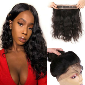 8A-Grade-360-Lace-Frontal-Closure-Body-Wave-Brazilian-Human-Hair-Extensions-Wavy