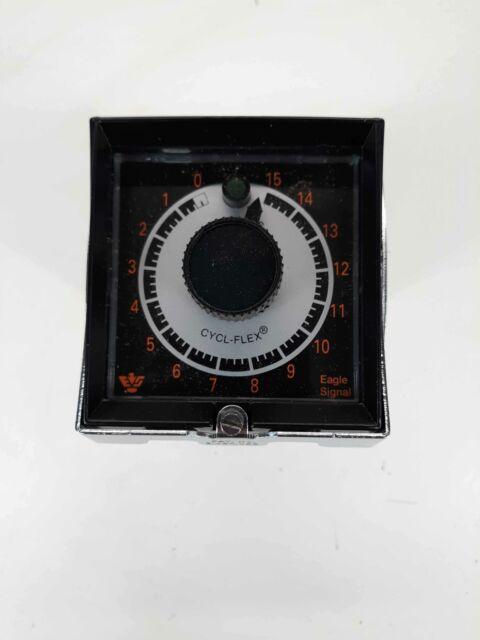 Danaher Controls Eagle Signal HP515A6 Timer 10SEC 10AMP 120-240VAC 60Hz