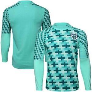 Maillot-Angleterre-Umbro-GK-Goalkeeper-Player-issue-Trikot-Shirt-Jersey-Maglia-M