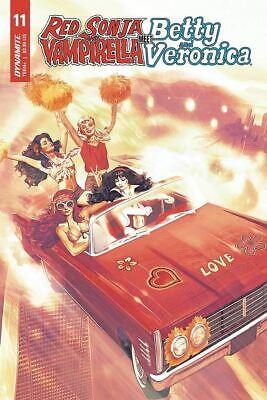 2019 Dynamite Vault 35 Red Sonja Vampirella Betty Veronica #6 Cover B VF