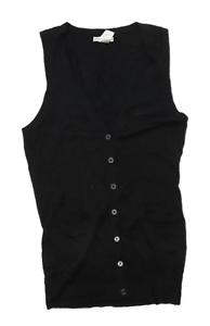 Gap-Womens-Size-S-Merino-Wool-Blend-Black-Cardigan-Regular