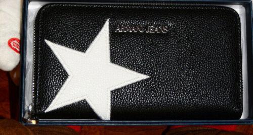 Beautiful Jeans White Auth Star Wallet Nwtgs W Schwarz Armani 0SWq5g