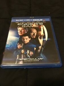 Enders Game (Blu-ray, 2014) Very Good Condition- Harrison ...