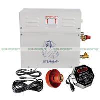 9kw 220v Steam Generator +st-135 Controller +steam Sprayer For Home Spa Bath