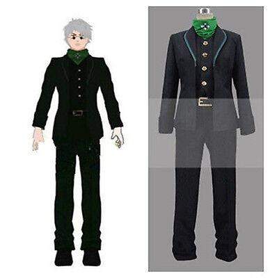 new RWBY Professor Ozpin Headmaster Cosplay Costume Black Green Uniform #52