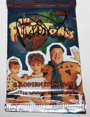 Entertainment Memorabilia Rosie O'donnell Signature Signed Flintstones Movie Topps Card Pack Autograph