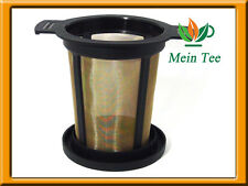 Teefilter Finum l té café tamiz colador de té filtro Filtro de duración filtro de acero inoxidable