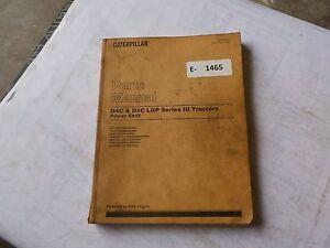 Cat-D4C-D4C-LGP-Series-III-Parts-Manual