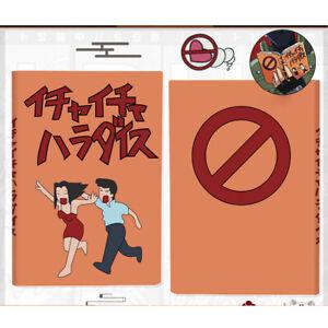 Naruto Kakashi Hatake Notebook Icha Make out Paradise Collectible A5 @yi OqRnV
