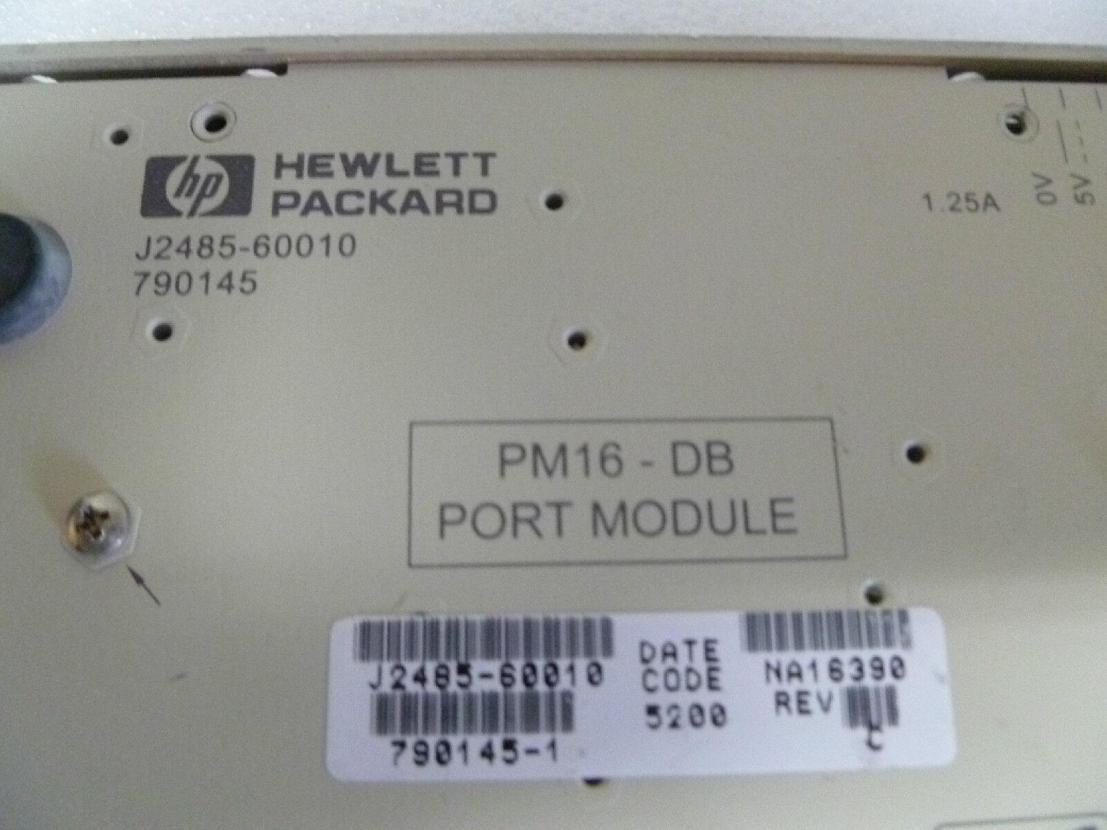 HP J2485-60001 PM-16-DB PORT MODULE J2485-60010 NEW OPEN BOX