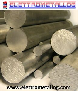 barra Tonda Alluminio 7075 ERGAL Ø 8 al Ø 60 in diverse lunghezze