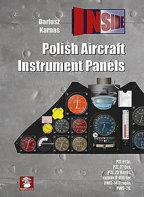 1 of 1 - Polish Aircraft Instrument Panels (INSIDE), Karnas, Dariusz, Very Good Book