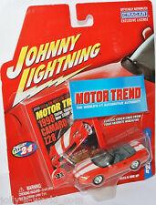 Motor Trend - 1998 CHEVY CAMARO Z28 conv. - redorange - 1:64 Johnny Lightning