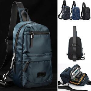Water-Resistant-Sling-Backpack-Chest-Pack-Shoulder-Backpack-Daypack-Single-Strap