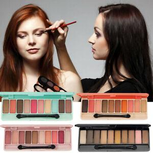 Conjunto-de-cosmeticos-Sombra-de-Ojos-con-Pincel-10-Colores-Brillo-Mate-Paleta-de-maquillaje-de-ojos