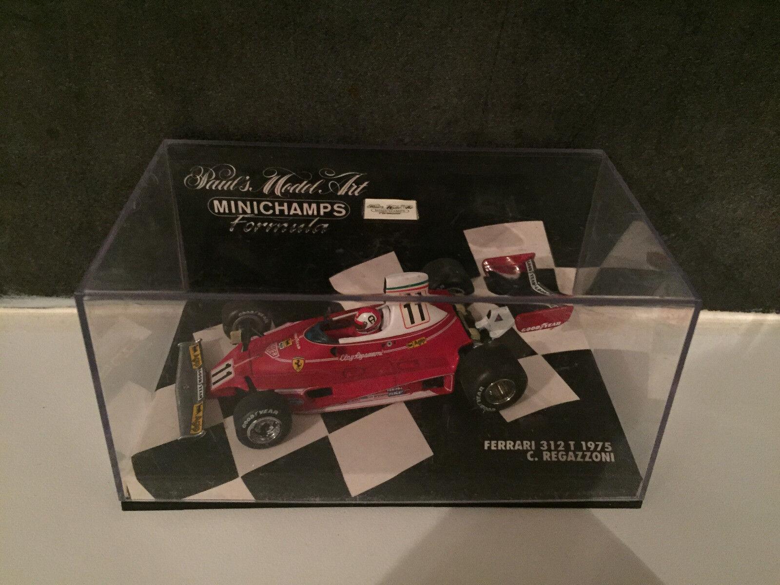Ferrari 312T Regazzoni 1975 F1 Formule 1 Minichamps 1 43