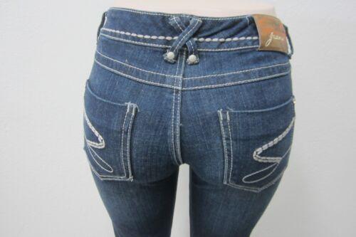 Women's Size W29 Denim Dark 7 X Nwot L28 Stretch Slim Seven Jeans SFOx8EA