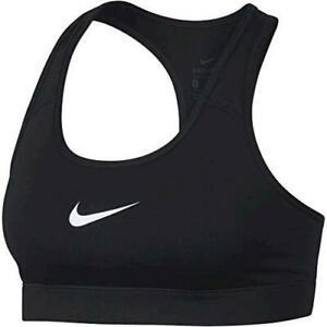 Nike-Women-039-s-Victory-Padded-Sports-Bra-Black-White-Size-hC05