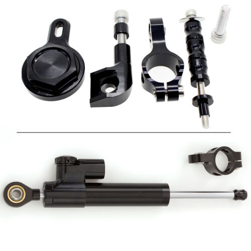 FXCNC Stablizer Steering Damper Mounting Bracket Kit For Yamaha YZF R1 2003 2004
