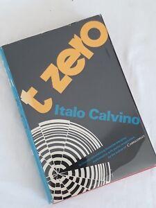Italo-Calvino-T-Zero-1st-US-Edition-1969-in-Original-Dustwrapper