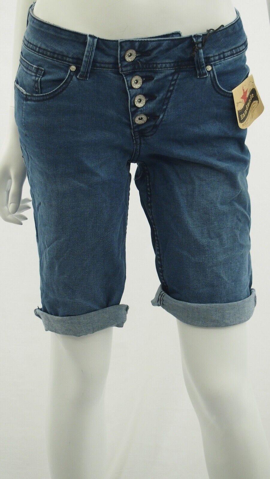 Buena Vista Malibu-Short Stretch Denim 1904 J5025 212 Shorts Bermuda New