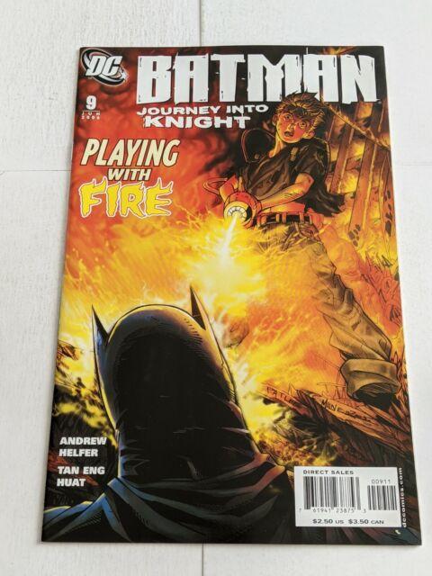 Batman Journey Into Knight #9 June 2006 DC Comics