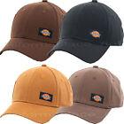 Dickies Hats Canvas Functional Pocket Adjustable Baseball Cap Black Brown Timber