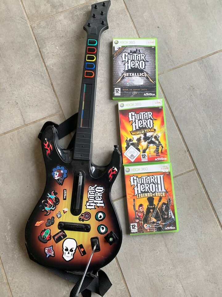 Guitar Hero, Xbox 360, anden genre