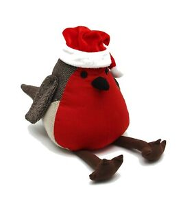 Ideal for Christmas Christmas Robin Sitting Door Stop