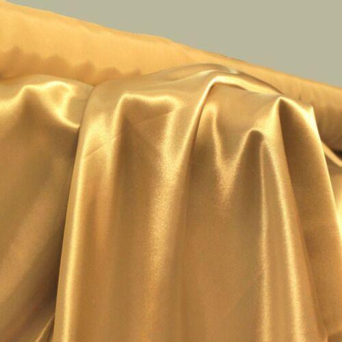 u Deko-Stoff für  Gardine Kostüm Kleid Hochzeit Meterware Glanz SATIN als Mode