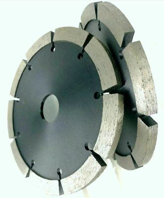"""5/"""" Diamond Wall Chaser Tuck Point Blade 10 Pack Concrete Brick Block Mortar"""