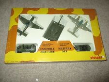Diecast Playart German Military Set With Box Very Nice Tiger Tank ME 410 JU 87B