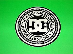 dc shoes Sticker Black Skateboards