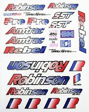 BASSO Loto 1990 Sticker Decal Set