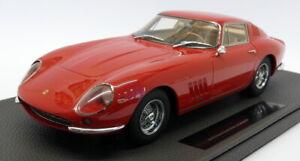 Top-MARQUES-auto-modello-IN-SCALA-1-18-TOP089A-FERRARI-275-GTB4-Rosso-Red