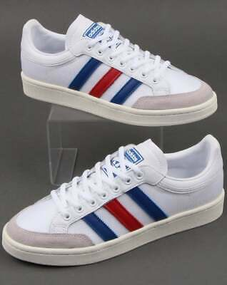 Adidas Americana Low Trainers in White, royal & rouge Rétro Baskets, Chaussures | eBay