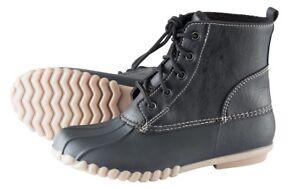 Damen-Outdoor-Schuh-BOOTLE-Pfiff-schwarz-NEU