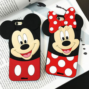 Hot3D-Animals-Mouse-Cartoon-Soft-Silicone-Case-Cover-Back-Skin-For-Various-Phone