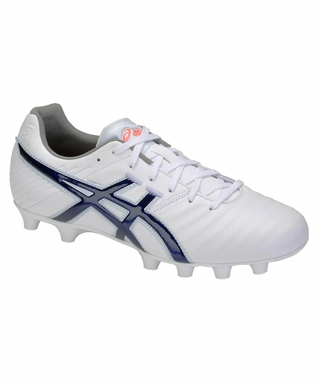 ASICS Soccer Football Spike shoes DS LIGHT 3 WIDE TSI751 White US6(24.5cm)