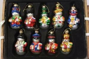 Christmas Ornaments Thomas Pacconi 2003 Collection Set ...