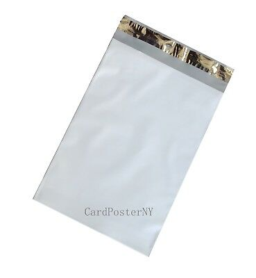 100 GRAY THIN POLY MAILERS 14.5x19 SELF SEALING SHIPPING ENVELOPES BAG EPS 2 MIL