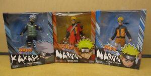 """Gaara Naruto Shippuden 4/"""" Poseable Figures NEW MIB Sasuke or Pain"""