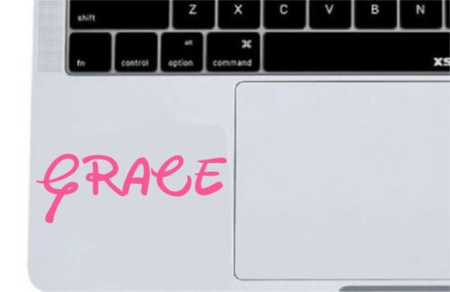 X2 CUSTOM TEXT Personalised Name Lettering Car//Laptop//Window Shop Decal Sticker