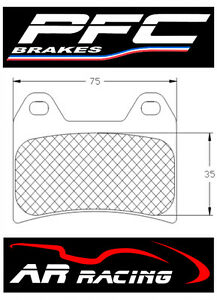 Performance-Friction-Race-Brake-Pads-95-Comp-to-fit-Yamaha-TZR-250-1987-1992
