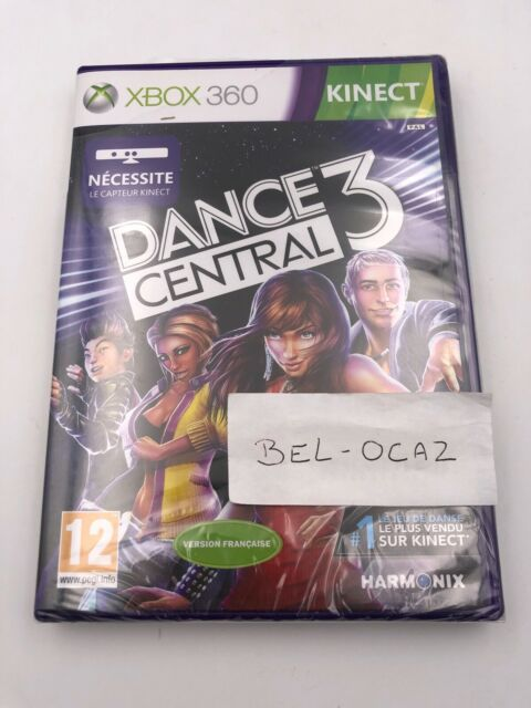 Neuf Jeu XBOX 360 DANCE CENTRAL 3 Sous Blister
