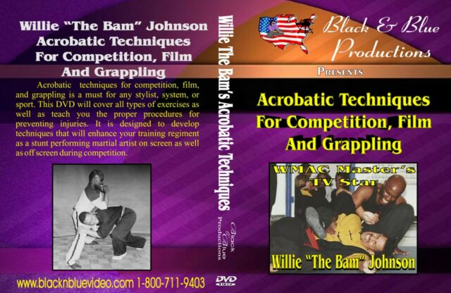 Willie The Bam teaches how to use Acrobatics for Competition Instructional DVD