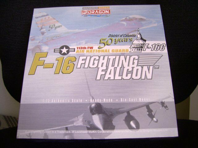 Dragon Warbird US Air Force Lockheed F-16 DC Ang Diecast Modelo 1 72